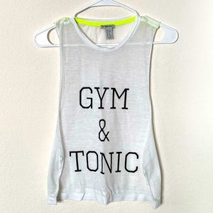 Forever 21 Gym & Tonic Women Muscle Tank Top XS